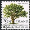 Iceland SG663 1985 Centenary of Iceland Horticultural Society 20k good/fine used